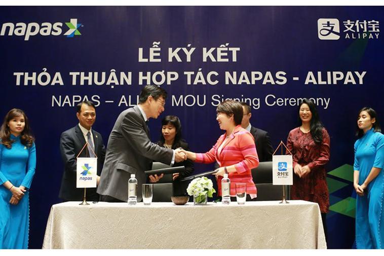 Thỏa thuận hợp tác với Napas là bước đầu khi thâm nhập thị trường Việt Nam của Alipay
